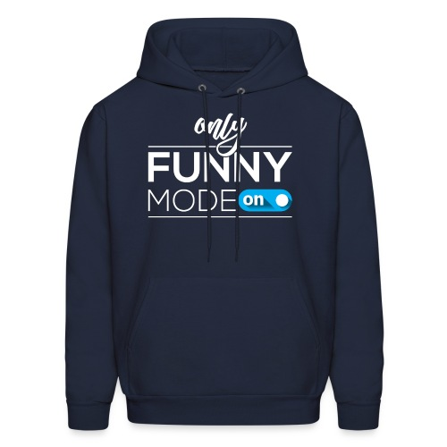 Funny time on - Men's Hoodie