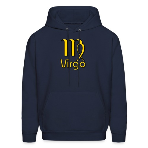 zodiac virgo yellow - Men's Hoodie