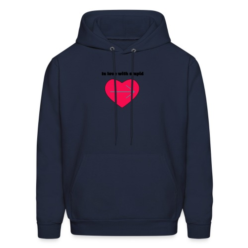 In love with stupid - Men's Hoodie