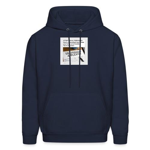Applications - Men's Hoodie