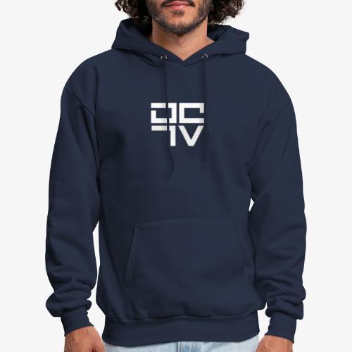 DCTV - DragCarTV logo - Men's Hoodie