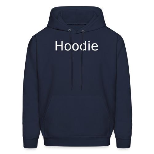 Hoodie Hoodie White - Men's Hoodie