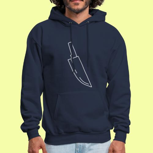 Crappy Styrofoam Knife (White) Limited Edition - Men's Hoodie