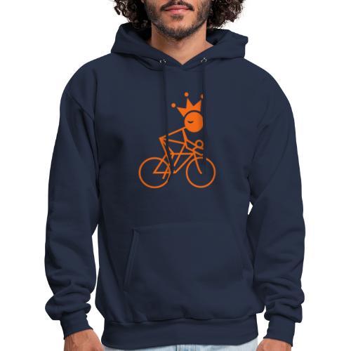 Winky Cycling King - Men's Hoodie