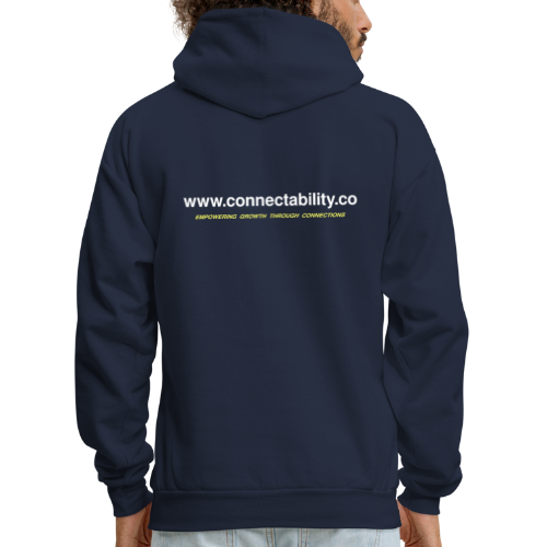 Connectability LLC Connections - Men's Hoodie
