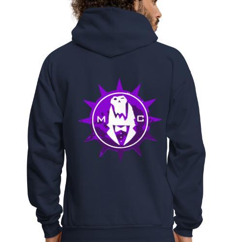 Vector MC Logo 2 colors V2 - Men's Hoodie