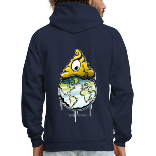 shit rules the world - Men's Hoodie