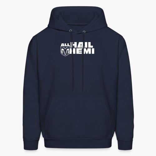 Hail Hemi (White) - Men's Hoodie