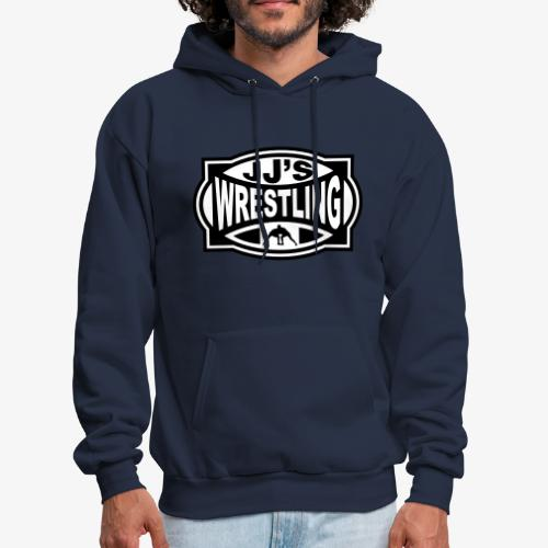 JJs Club Wrestling Logo Mono - Men's Hoodie