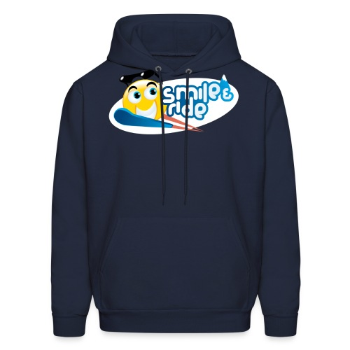 Smile And Ride - Men's Hoodie