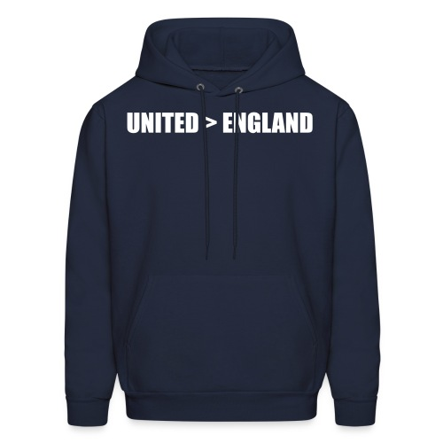 United better than England - Men's Hoodie