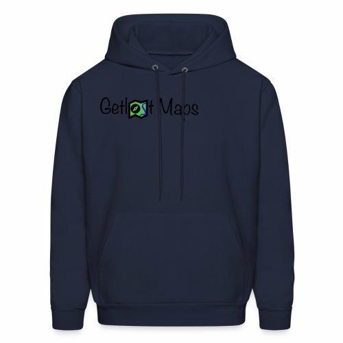 Getlost Maps Logo - Men's Hoodie