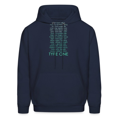 The Inspire Collection - Type One - Green - Men's Hoodie