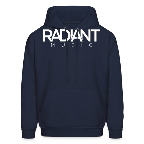 Radiant Text Logo - Men's Hoodie