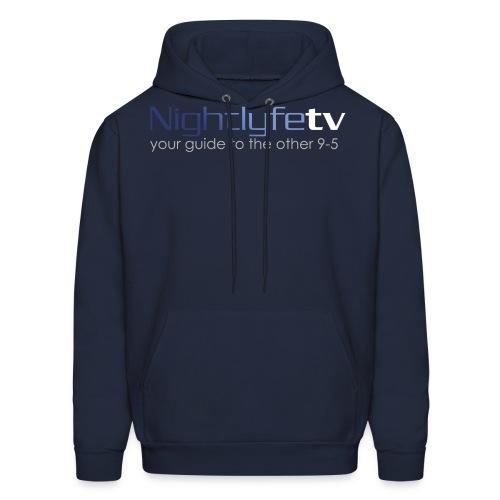 NTV Logo Full - Men's Hoodie