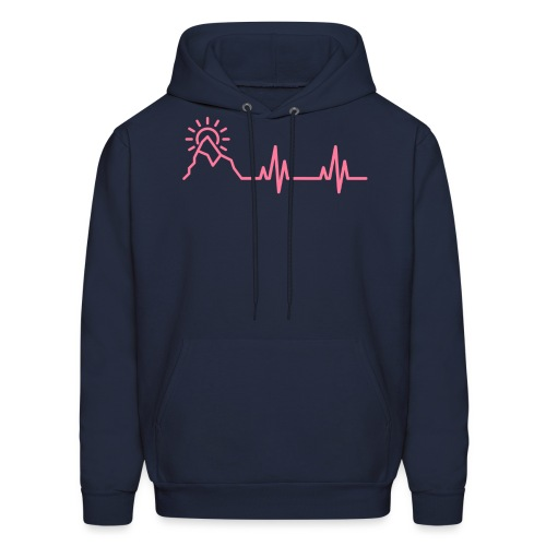 The Heartbeat of a Wanderer - Men's Hoodie