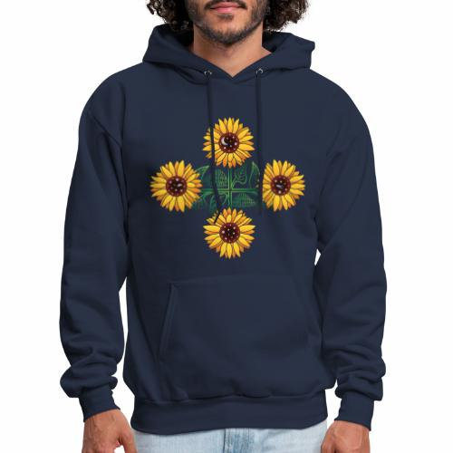 Night Blooms from the Sun - Men's Hoodie