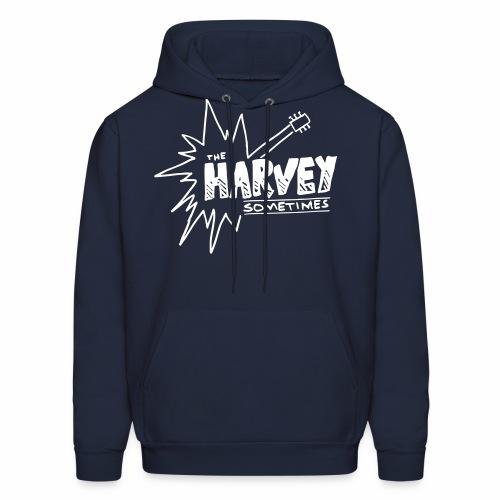 ths logo white - Men's Hoodie