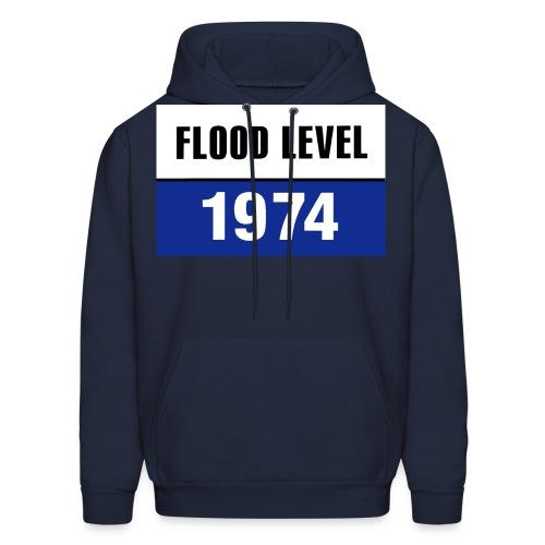 flood level 1974 - Men's Hoodie