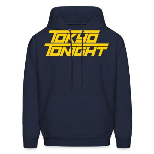 Tokyo Tonight Font Wh - Men's Hoodie