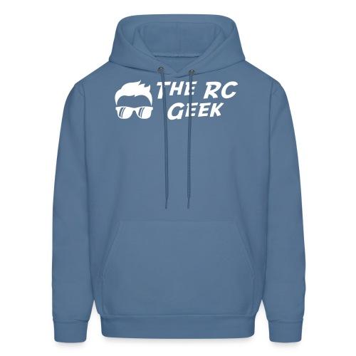 TRCG Logo-2 white - Men's Hoodie