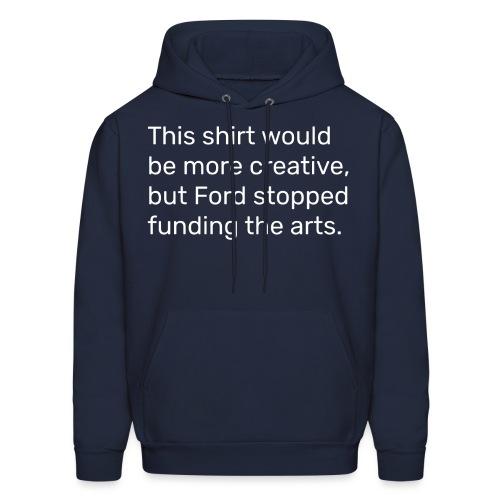 #FundTheArts - Men's Hoodie