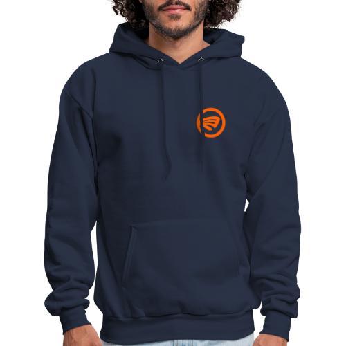 LuckyFin Orange - Men's Hoodie