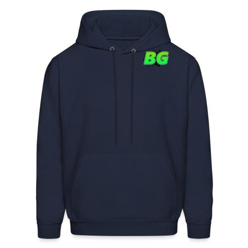 BBGrieve Small Logo (BG) - Men's Hoodie