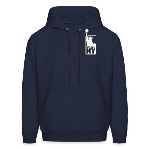 Kettlebells NY women's tee shirt - Men's Hoodie