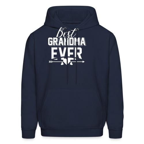 Best Grandma Ever, Best Mom Ever, Best Grandmother - Men's Hoodie