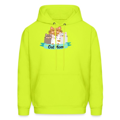 Cat MOM, Cat Mother, Cat Mum, Mother's Day - Men's Hoodie