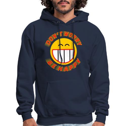 Be Happy - Men's Hoodie