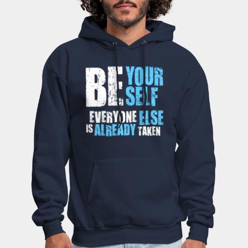 be yourself - Men's Hoodie
