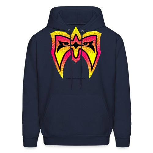 yellow red mask 9 5 - Men's Hoodie