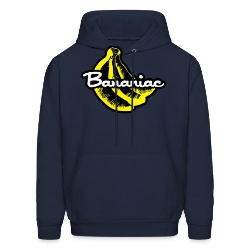 Bananiac Logo - Men's Hoodie