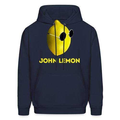JohnLemon Print1 png - Men's Hoodie