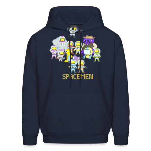 all the spacemen png - Men's Hoodie
