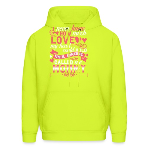 I Never Knew How Much Love My Heart Could Hold - Men's Hoodie