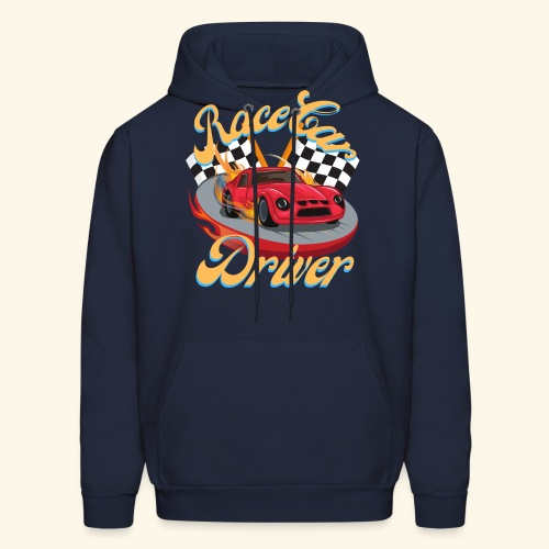 Race Car Driver - Men's Hoodie