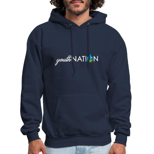 youthNATION White Logo - Men's Hoodie