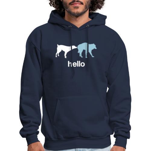 Hello - Men's Hoodie