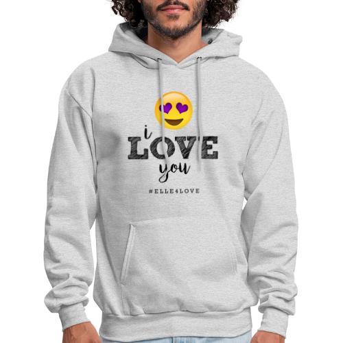 I LOVE you - Men's Hoodie