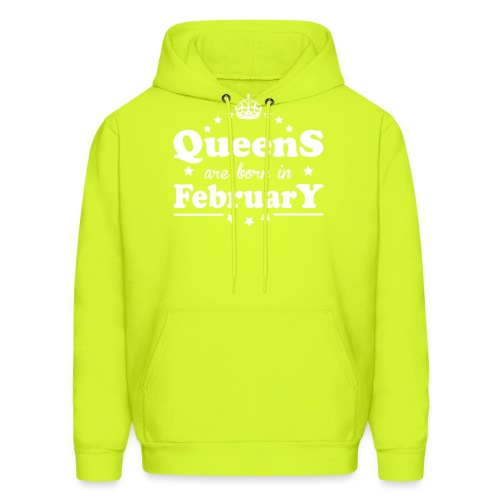 Queens are born in February - Men's Hoodie