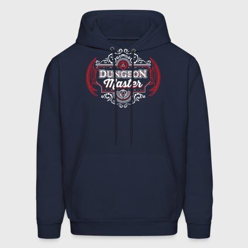 dungeon master filigree fantasy gift d20 shirt - Men's Hoodie