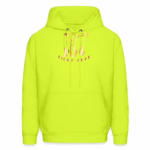 187 Fight Gear Gold Logo Street Wear - Men's Hoodie