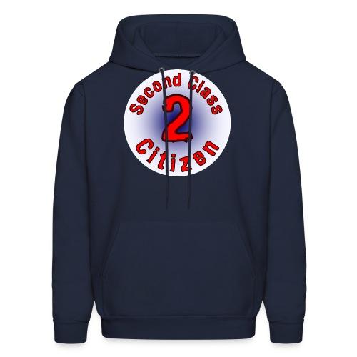 2nd Class Citizen Logo (Light) - Men's Hoodie