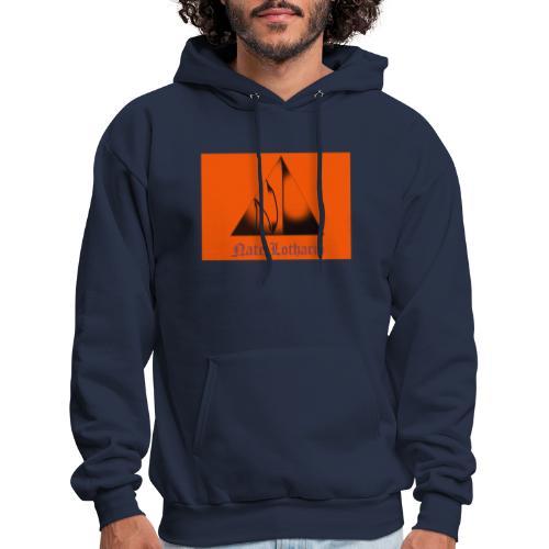 Orange Logo 2 - Men's Hoodie