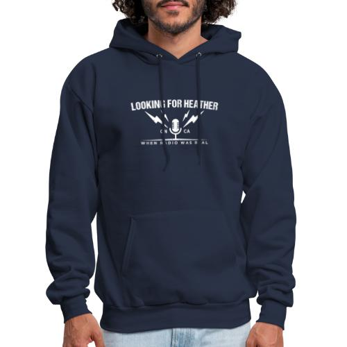 Looking For Heather - When Radio Was Real (White) - Men's Hoodie