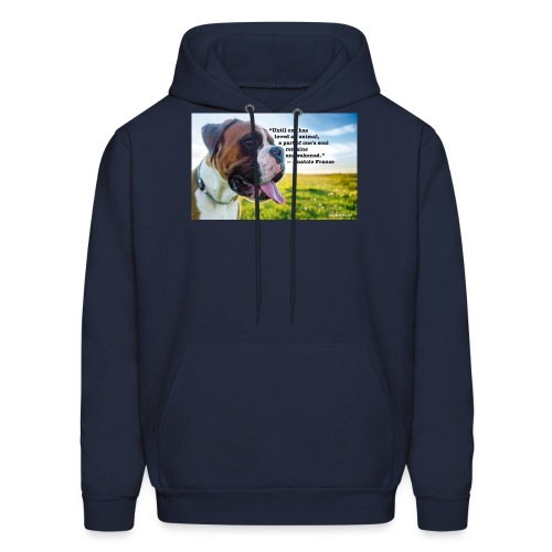 Until one has loved an animal - Men's Hoodie