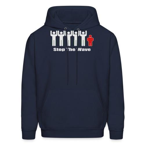 Men's Stop The Wave Logo T-Shirt - Men's Hoodie